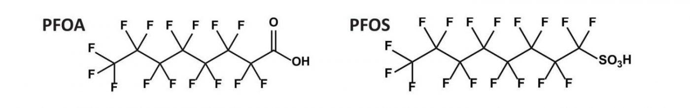 pfas-struttura-chimica